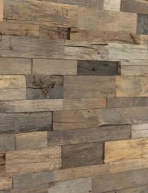 Holz Wandverkleidung - Spaltholz Altholz Eiche Konold