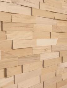 Holz Wandverkleidung - Spaltholz Buche