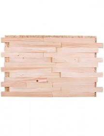 Holz Wandverkleidung - Spaltholz Fichte Konold