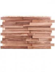 Wandverkleidung Holz - Spaltholz Nussbaum Konold