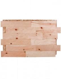 Holz Wandverkleidung - Spaltholz Zirbe gehackt Konold