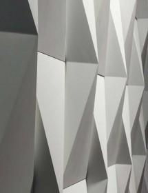 Wandverkleidung ORIGAMI Betonstein Godelmann