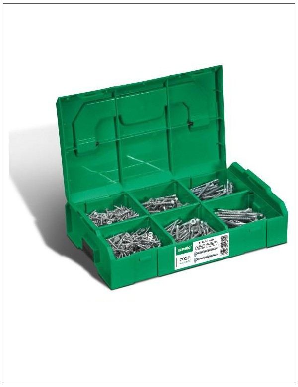 SPAX Montagekasten L-BOXX Mini