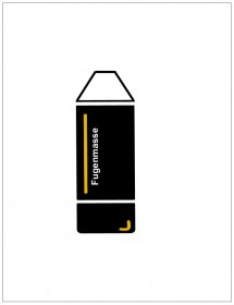 Fugenmasse für Steinwände | 310 ml Kartusche