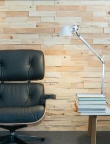 Holz Wandverkleidung - Spaltholz Zirbe gehackt