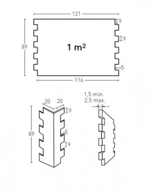 Wandverkleidung Steinoptik Concept Panel Piedra