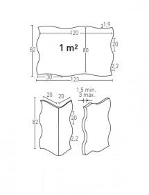 Wandverkleidung Stein Mamposteria Panel Piedra