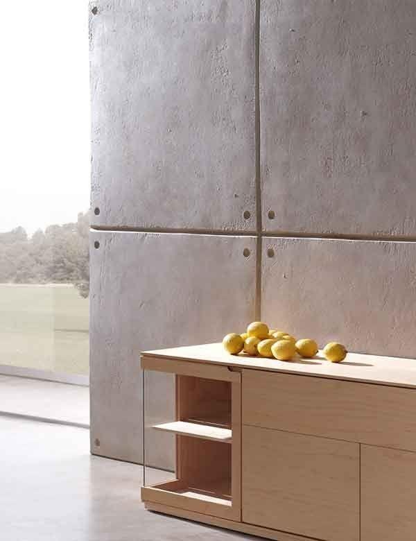 Wandverkleidung Steinwand Encofrado Panel Piedra