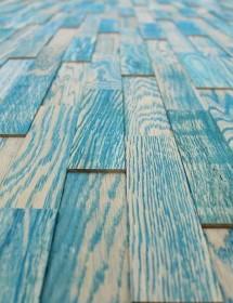 Holzwand Wodewa Vintage blau Wodewa