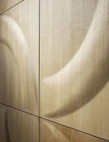 Wandverkleidung Dover Weiße Eiche