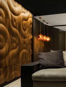 Wandverkleidung Shamal Amerikanische Walnuss, matt MOKO interior