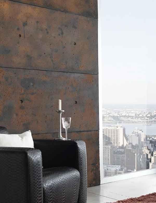 Betonwand Wandverkleidung Cemento Panel Piedra