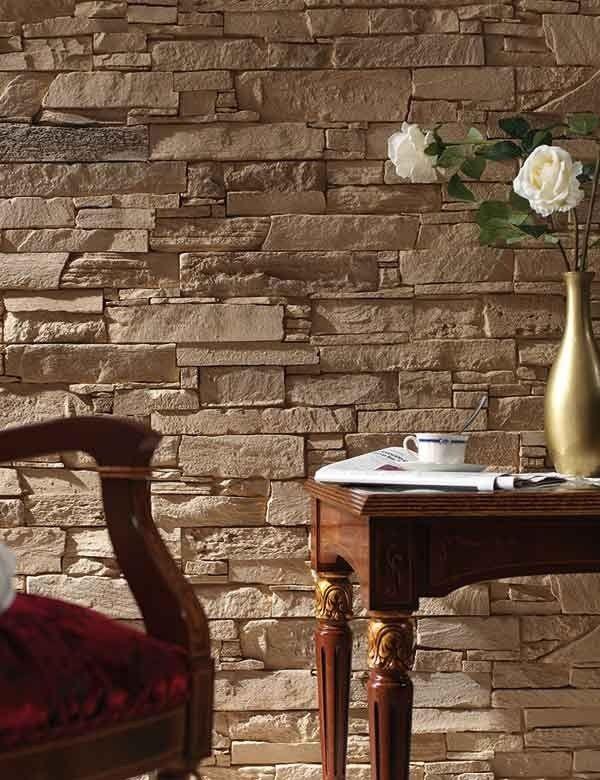 Wandverkleidung Stein Pizarra Andes Panel Piedra