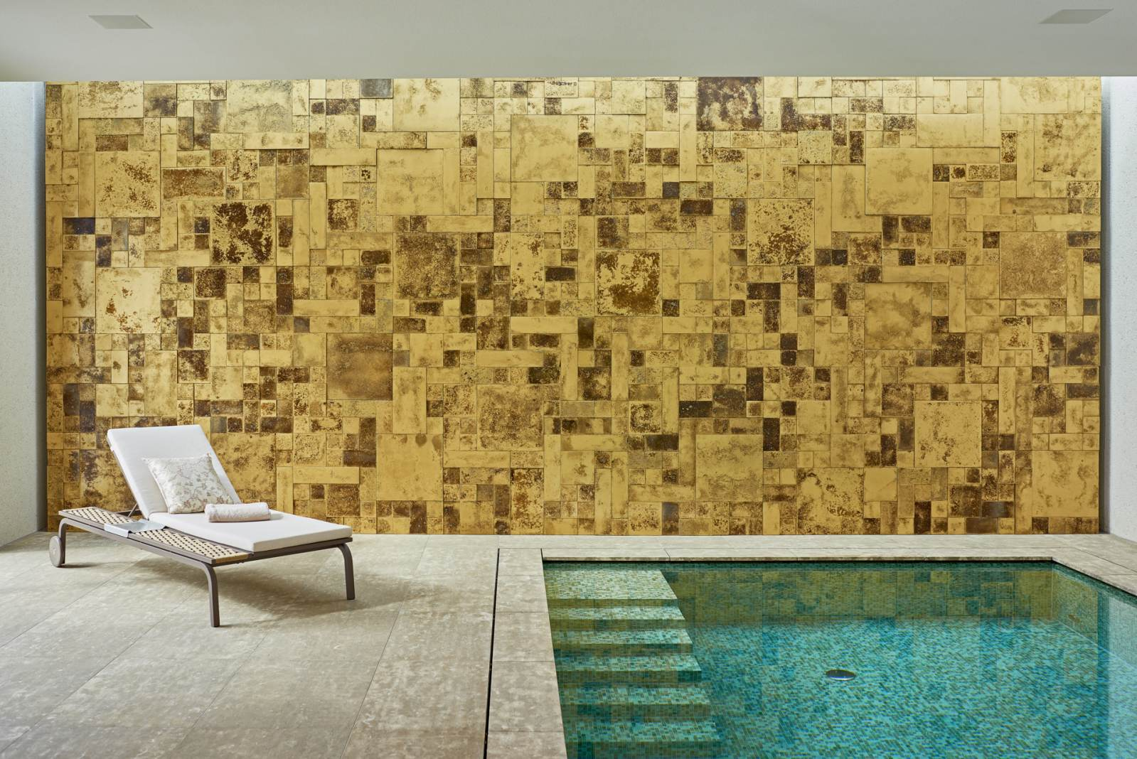 Wandverkleidung Beton Mosaico