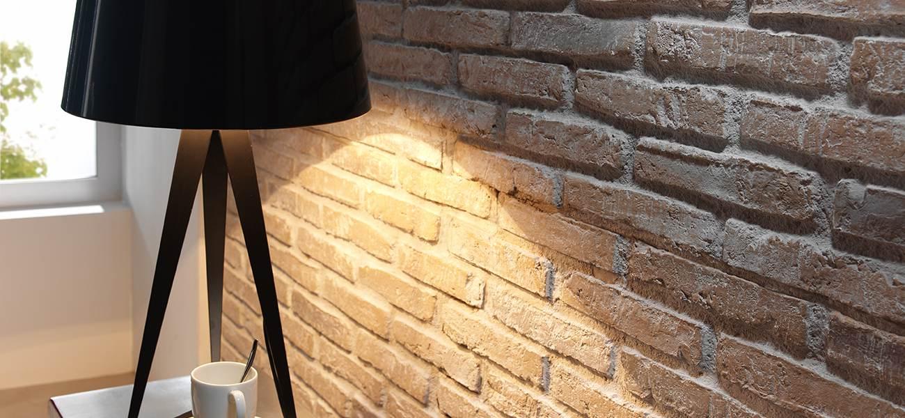Wandverkleidung Steinoptik