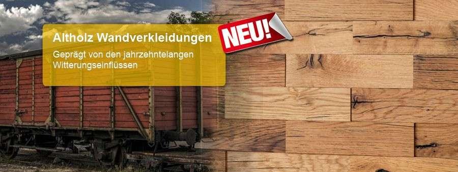 Altholz Wandverkleidungen