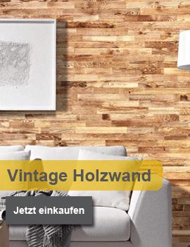Wodewa Holzriemchen und Wandverkleidung Vintage