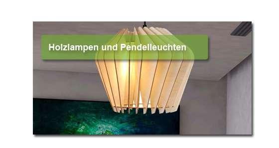 Wodewa Holzlampen für Ihr Wohn-Schlaf oder Badezimmer